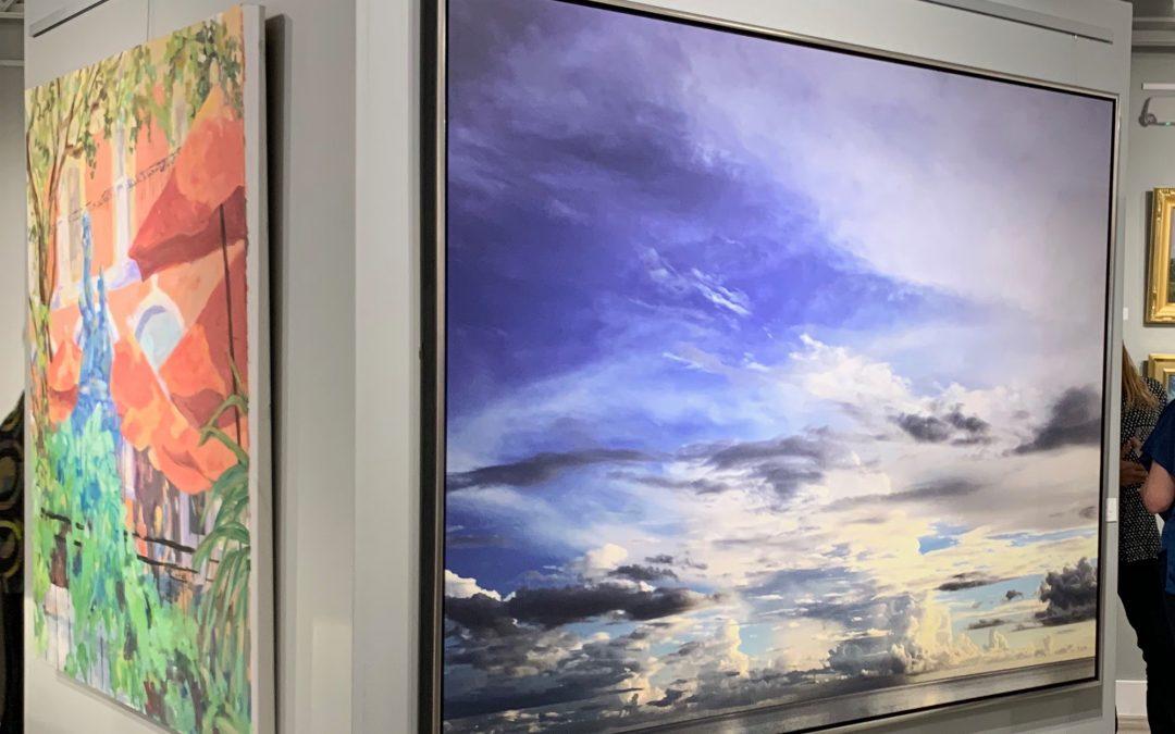 Susan Forrest Castle, Opening Gardner Colby Gallery