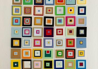 Susan Forrest Castle, Crazy Squares